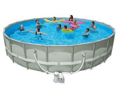 "Intex 22' x 52"" Ultra Frame Pool Set"