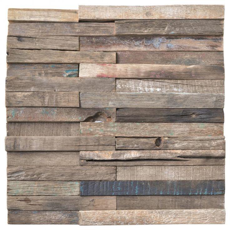 Reclaimed Wood Mosaic 16 best Reclaimed Wood