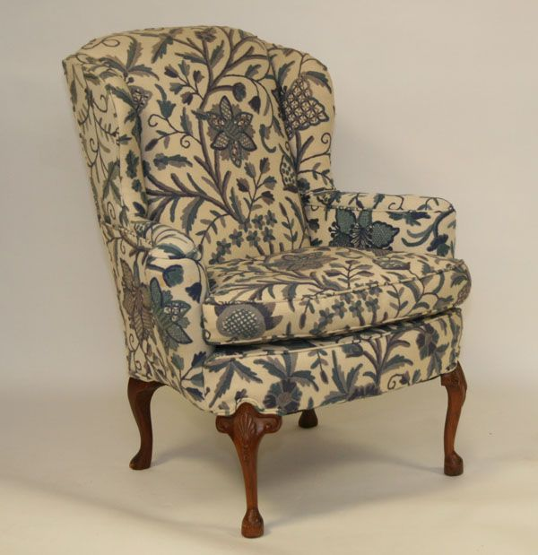 Antique Style: 18th Century George III Wingback Chair Upholstering Project  | Pop a squat... | Pinterest | Chair, Wingback chair and Chair design - Antique Style: 18th Century George III Wingback Chair Upholstering