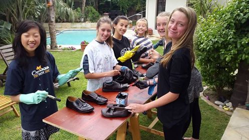 Some grade 7 pupils have been helping refurbish school shoes to donate to underprivileged communities. Don't forget to leave your old school shoes behind on the last day of school, should you wish to do so. Boxes will be placed at all the campus entrances.