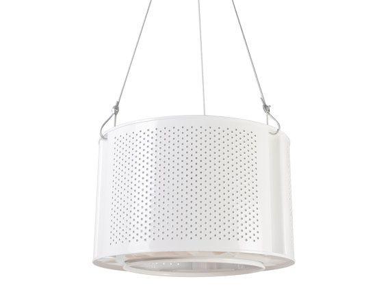 WHITE recycled drum lamp washing mashine by ekodizajn on Etsy