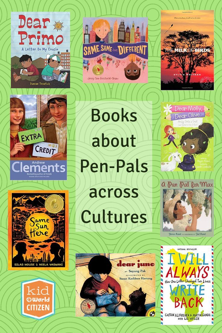 Books about Pen Pals: Kids Connecting Around the World