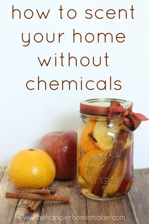 Easy way to make your house smell amazing without using any gross chemicals!