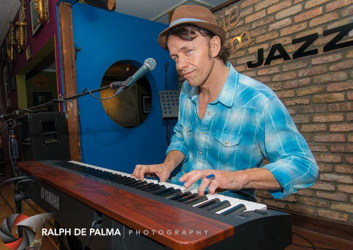 Ericson Holt at the Little Room Jazz Club.