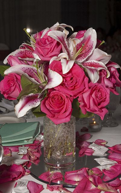Pink Wedding Centerpieces | Cheap Wedding Centerpieces