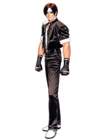 Primer Outfit de Kyo Kusanagi, cuando por primera vez aparecio el el Videojuego The King Of Fighters 94.  © 1994-2012 SNK PLAYMORE CORPORATION. All Rights Reserved.