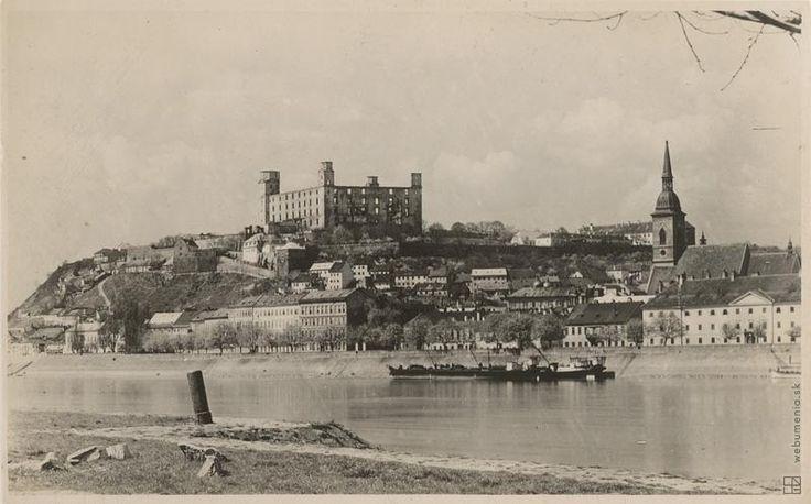 Miloš Jurkovič: Bratislava - hrad:1924