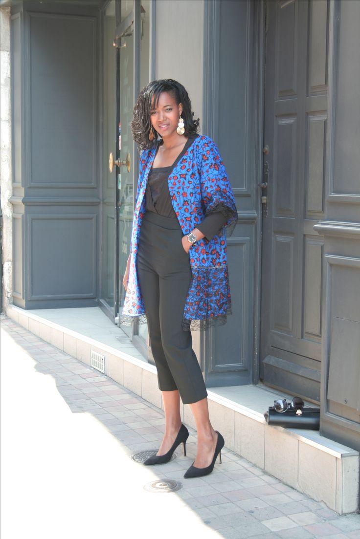 """Retrouvez le dernier article """"Kimonomania"""", sur le blog: www.bejustus.com Le kimono n'a pas fini de parler de lui...Dans la tendance de l'été, BeJustus crée """"kimowax"""" #bejustus #waxoversize #lepagnewax #couture #africanstyle"""