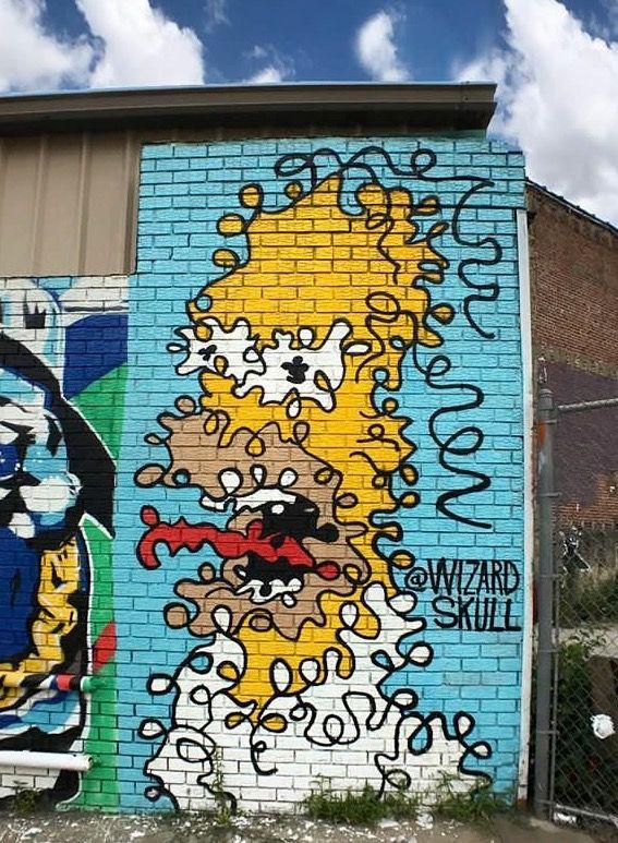 695 melhores imagens de grafit art no pinterest arte de for Nas mural queens