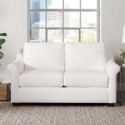 Birch Lane™ Heritage Jérémy Loveseat Body Fabric: Hals Indigo   – muebles preciosos
