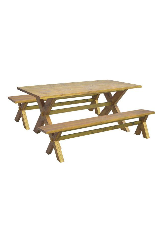 garden dining sets argos. buy home of style didsbury dining table with 2 benches at argos.co.uk garden sets argos