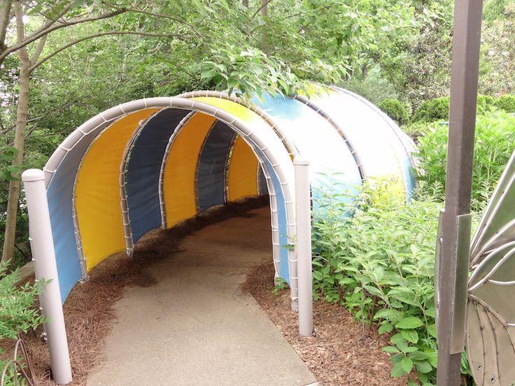 Cute idea for a kids garden or play area!