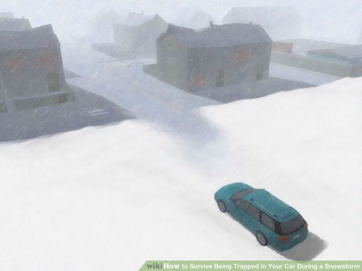 Survive Being Trapped in Your Car During a Snowstorm