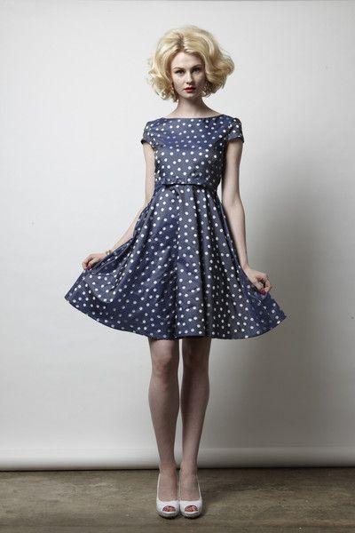 Polka Dot Spot Dress #stateofgrace