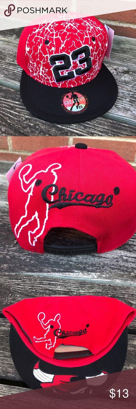 👨Bulls SnapBack GOAT SnapBack cap. Jordan number 23 Bulls NWT Accessories Hats