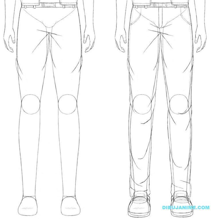 Como dibujar a un Hombre anime (rostro y cuerpo) Pasó a paso | Dibujanime!