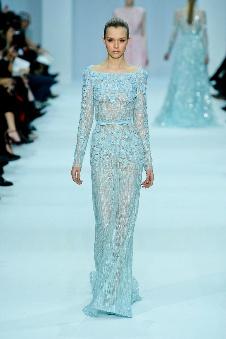 51 Best Elie Saab Images On Pinterest Wedding Frocks