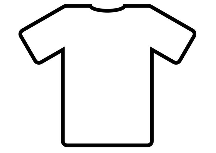 kleurplaat t shirt magliette pagine da colorare