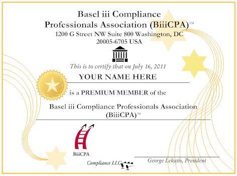 Certified Basel iii Professional (CBiiiPro).    http://www.basel-iii-association.com/Basel_III_Distance_Learning_Online_Certification.html