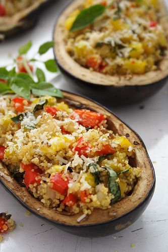 Stuffed Eggplant - Israeli Food - Israeli Food Recipes