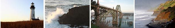 Newport, Oregon / Nye Beach Virtual Tour, Oregon Coast: Newport Beaches, Newport Guide, Photos, Pictures
