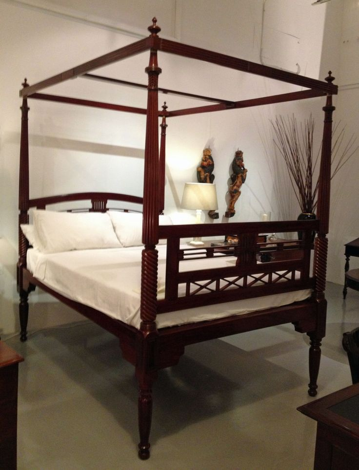 17 best images about our colonial furniture on pinterest for Colonial beds