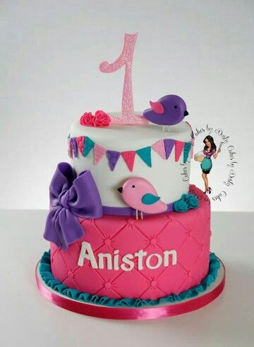 Cute 1 st birthday cake