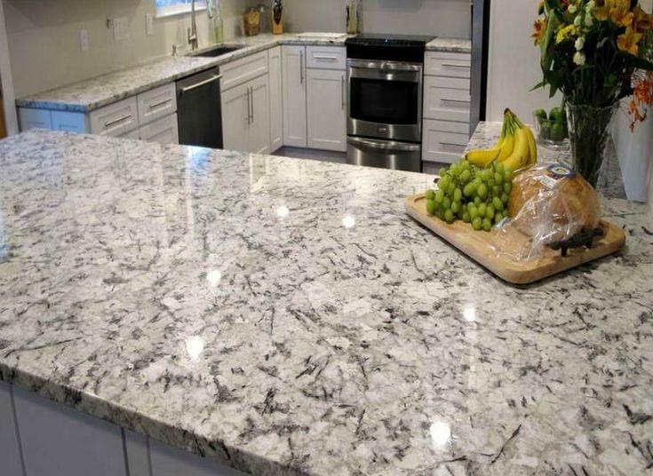 Image result for white mist granite  Judi House  Granite Granite colors White countertops