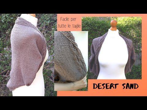 vendita uk migliore selezione del 2019 ultime tendenze Cocoon ai ferri Desert Sand | Tutorial coprispalle elegante ...