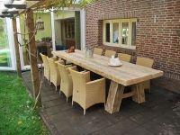 Steigerhout tafel Sanne 8 persoons