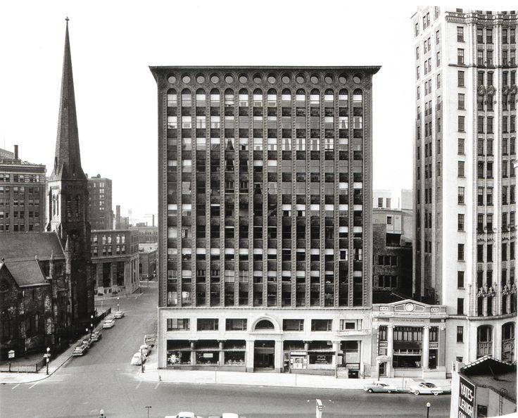 Louis Sullivan and Dankmar Adler, Guaranty Building, Buffalo, 1894-5