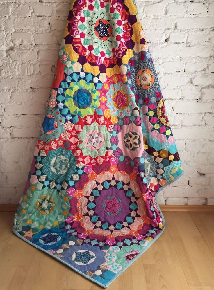 www.lieblingsdecke.de Krabbeldecken und Quilts aus Frankfurt La Passacaglia quilt finished! Millefiori quilt