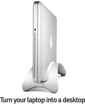 BookArc Pro Desktop Stand fro Macbook Pro
