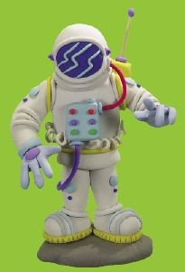 Plastilina Astronauta figura