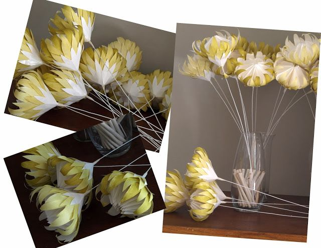freshly found - Recycled Paper Proteas