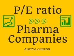 PE ratio of Pharmaceutical companies
