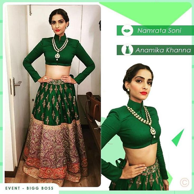 """""""@sonamkapoor in this #AnamikaKhanna outfit in #BiggBoss is all the inspiration you need this #FestiveSeason  #MyFashTags #OutfitInspo #PRDP"""""""