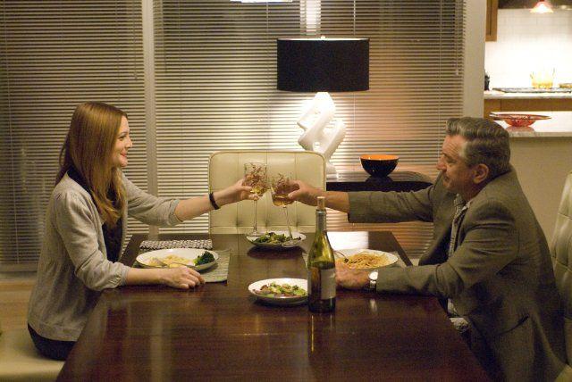 Drew Barrymore and Robert De Niro in Everybody's Fine