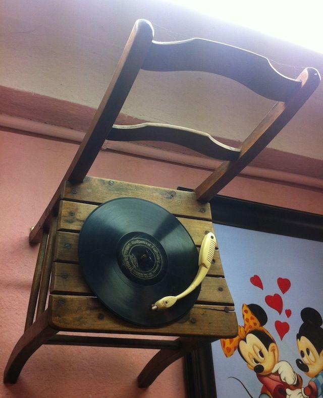 sedia grammophone picture