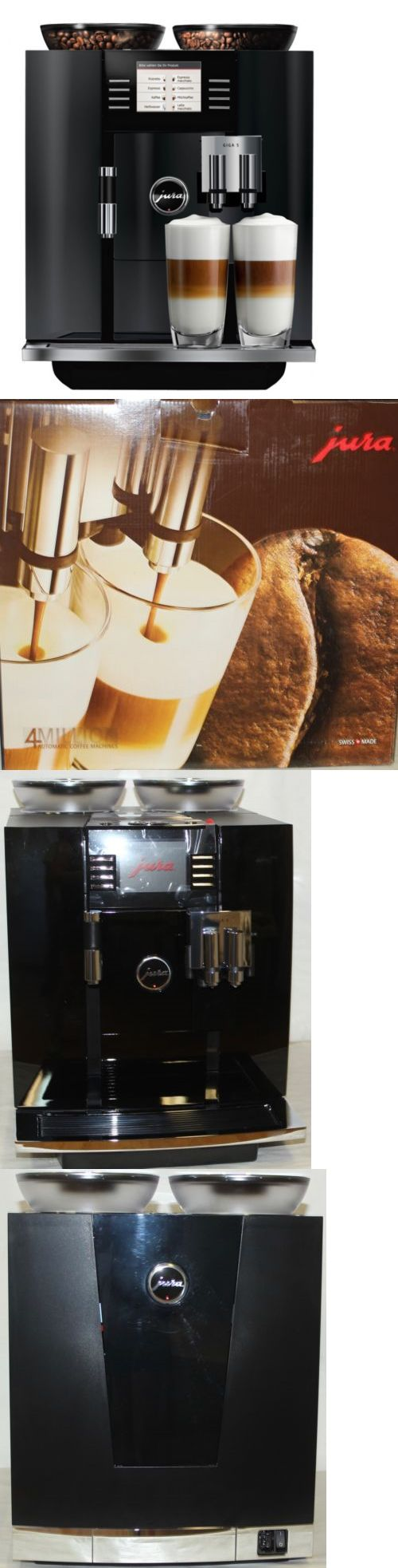 Coffee Makers Specialty 177752: New Jura Giga 5 Piano Black Espresso Coffee Maker Machine Automatic 15066 -> BUY IT NOW ONLY: $3799.99 on eBay!
