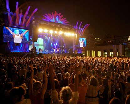 The International Jazz Festival In Montreal.
