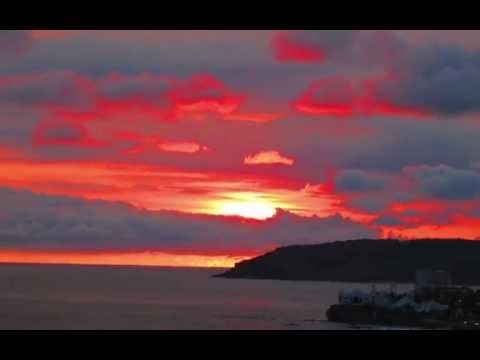 My slideshow of sunsets of Mazatlán as taken from our terrace.