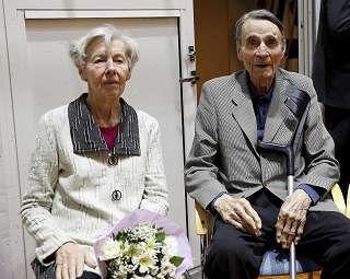 Presidentti Mauno Koivisto ja rouva Tellervo Koivisto seurasivat otteluja suurella mielenkiinnolla.