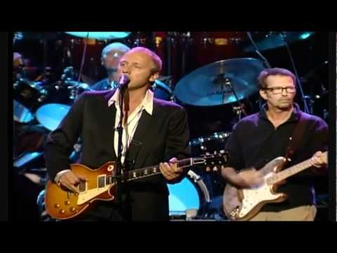 Mark Knopfler (lead guitar, lead vocals), Eric Clapton (Rhythm guitar), Phil Collins (drums), Sting (backing vocals)