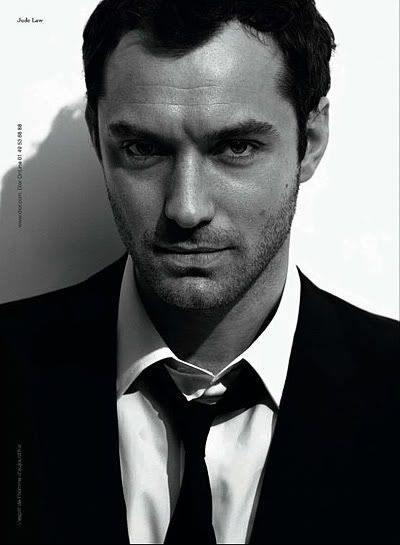 Jude Law as Christian Grey.  Ten years ago, I would have raped and pillaged for the possibility.  He's too old now, unfortunately.