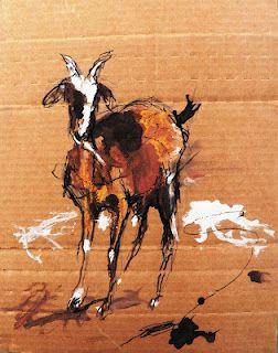 Urban Sketchers: Chèvres