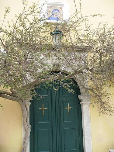 Paleokatrista Monastery, Corfu, Greece