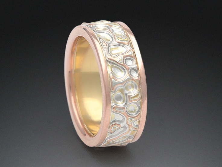 ring mokume store rings