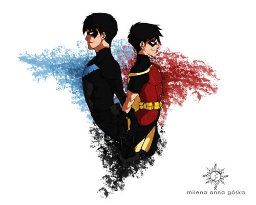young justice robin/nightwing | Young Justice Fan Art