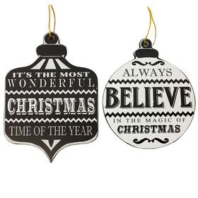 Picture of Christmas Words Ornament